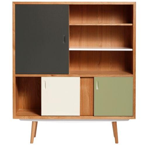meuble design, mobilier annees50 buffet, buffet vaisselier, buffet