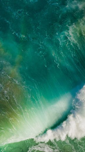 Sea Green Wallpaper In 2019 Ios 11 Wallpaper Iphone