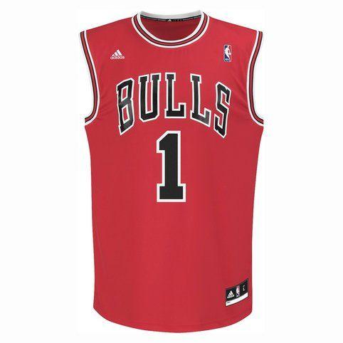 Maillot de basket ball adidas Chicago Bulls homme sport