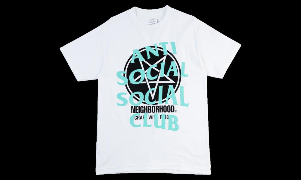 Anti Social Social Club Neighborhood White Filth Fury As0039 In 2021 Anti Social Social Club The Neighbourhood Social Club