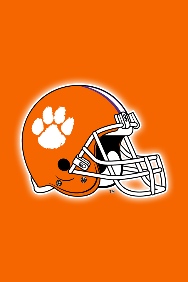Get A Set Of 24 Officially Ncaa Licensed Clemson Tigers Iphone Wallpapers Sized Precisely For Any Model Of Iphone With Clemson Wallpaper Clemson Clemson Tigers