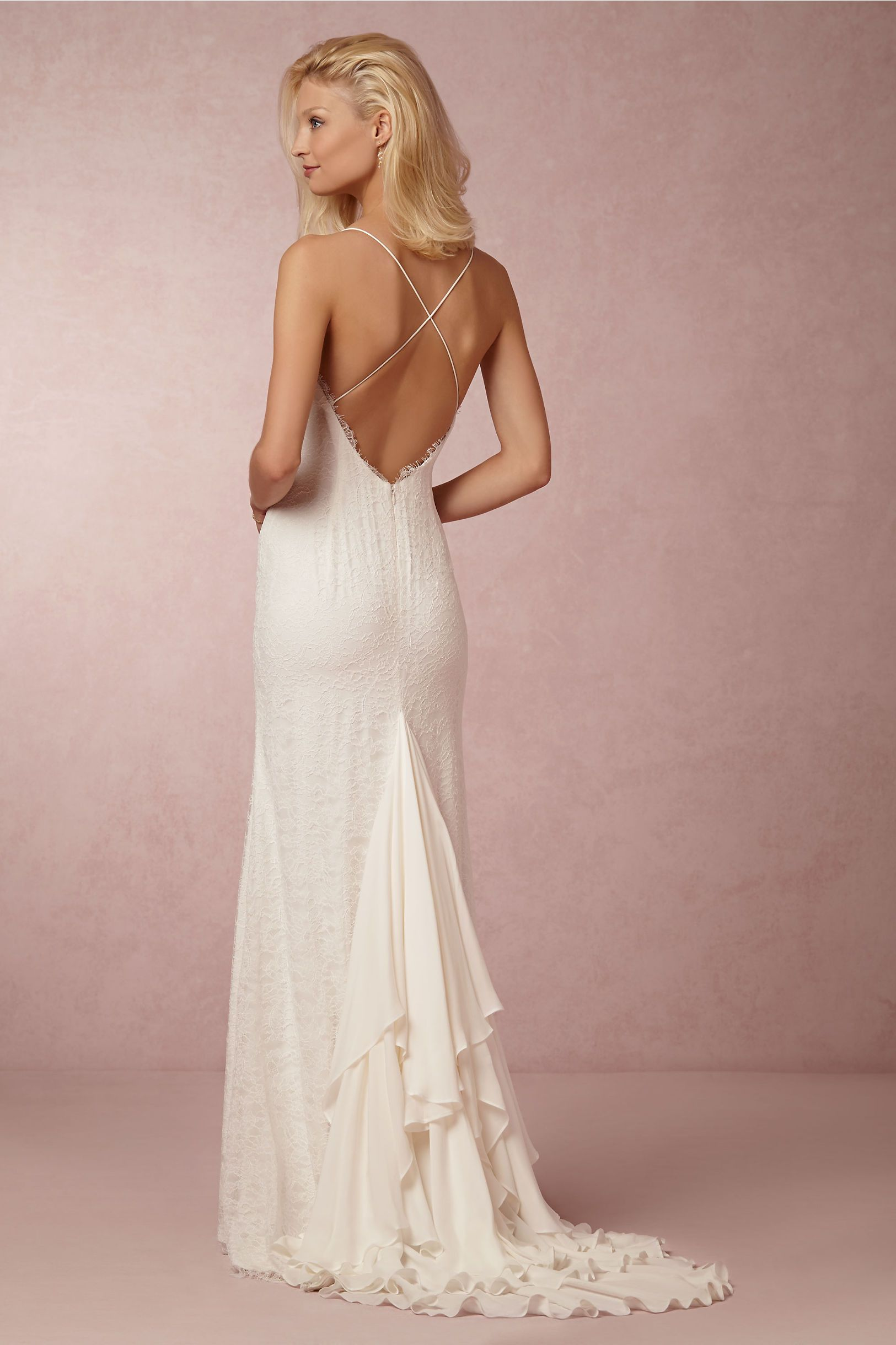 Jamie wedding gown by nicole miller for bhldn city hall