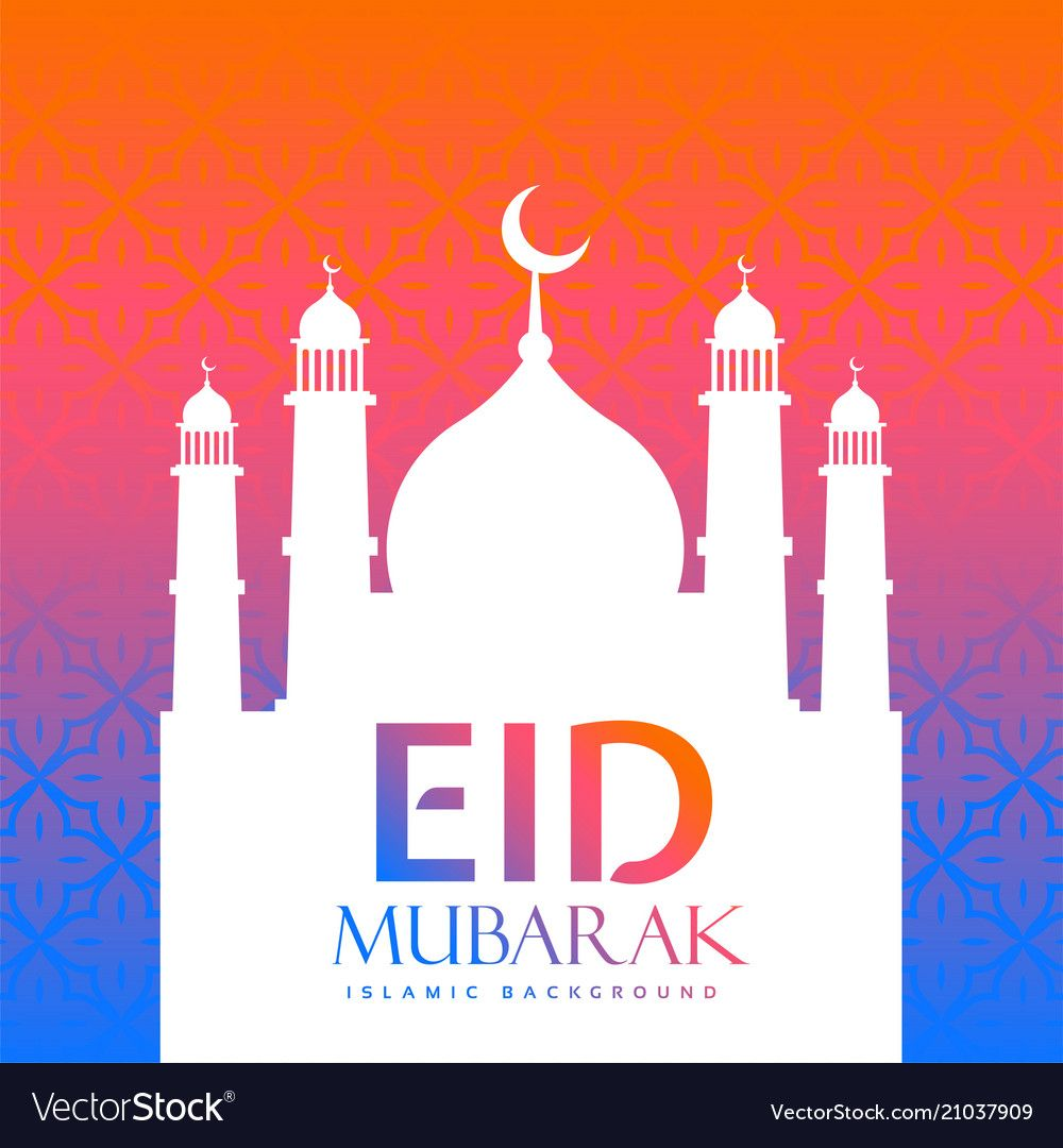 colorful eid festival creative greeting download a free