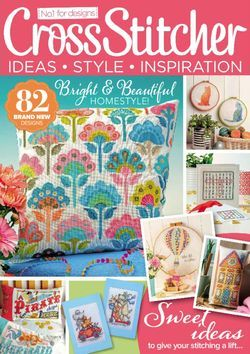 CrossStitcher is the UK's best-selling crafts magazine  Each