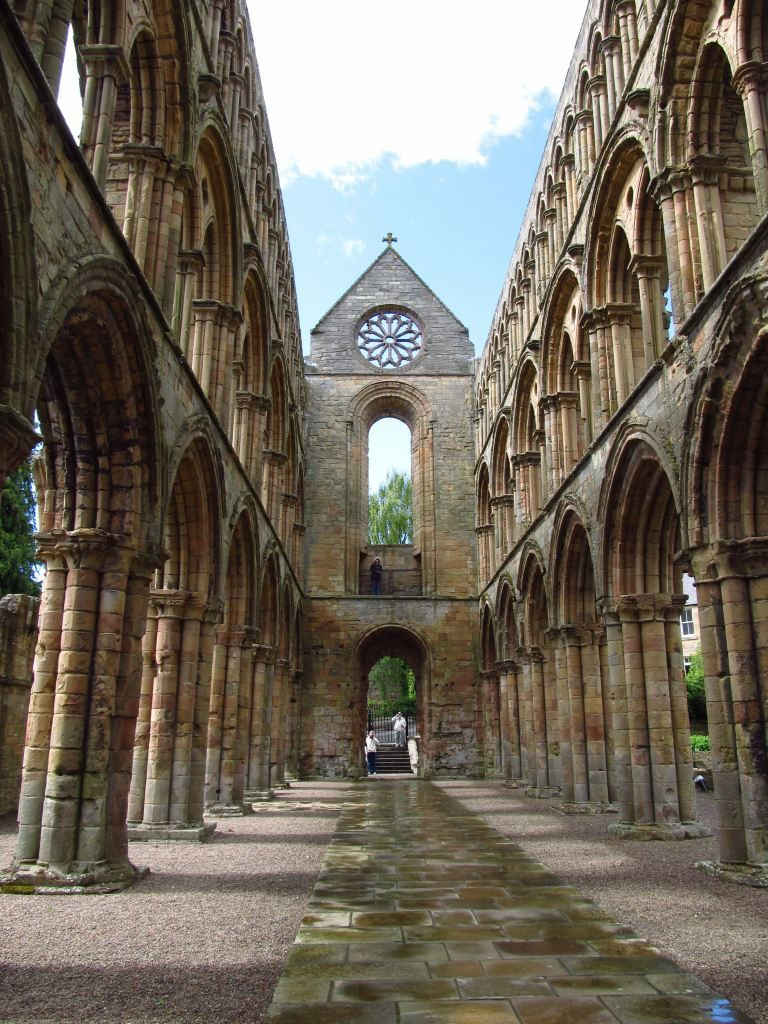 Jedburgh Abbey, Scotland - Augustinian Canons Regular - founded c. 1138 (1148) by David I of Scotland