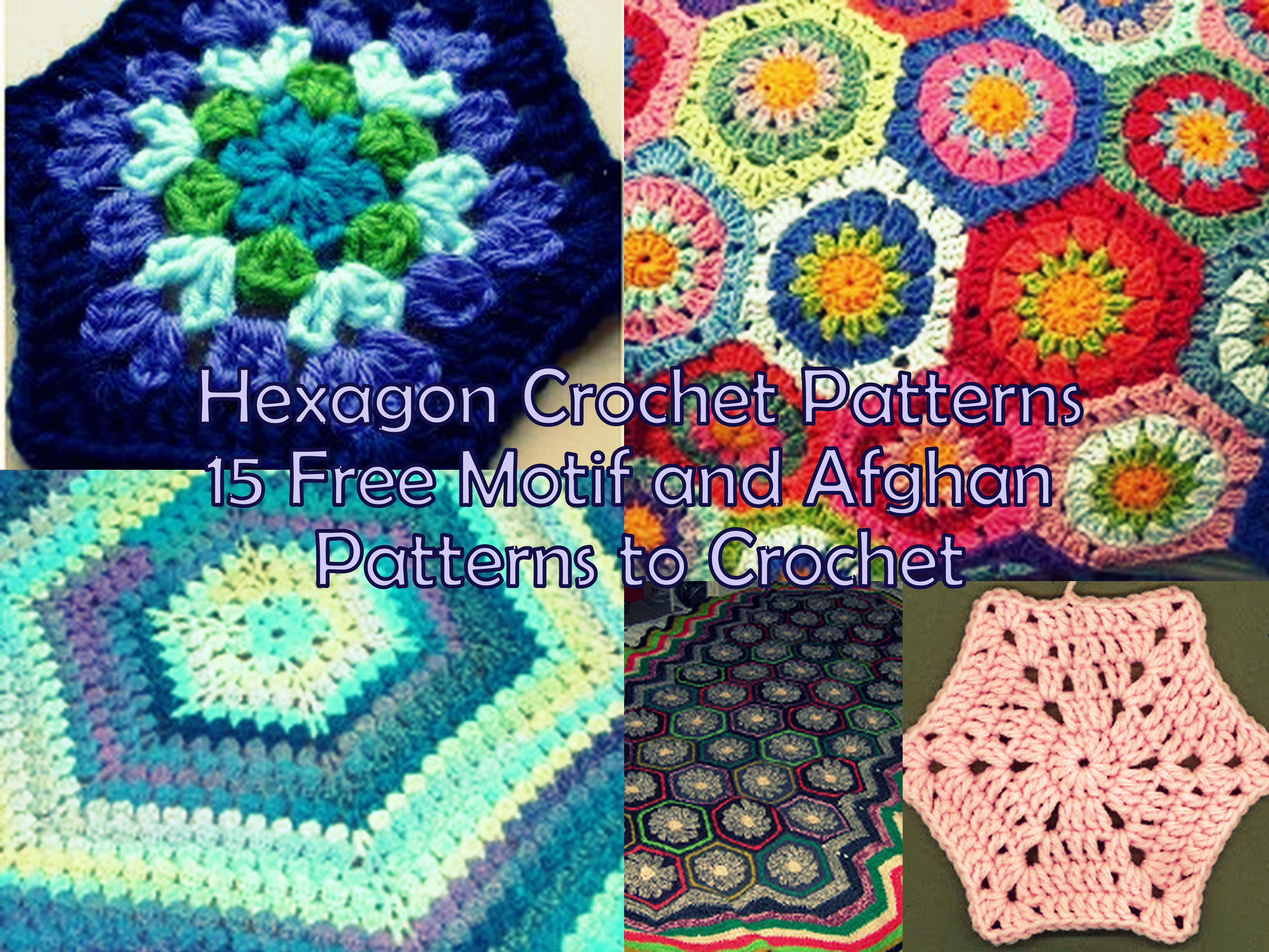 Hexagon crochet patterns 15 free motif and afghan patterns to hexagon crochet patterns 15 free motif and afghan patterns to crochet bankloansurffo Image collections