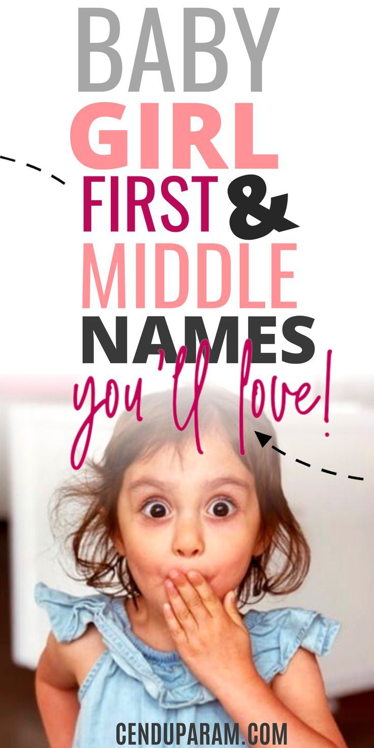 Cutest Girl First and Middle Names (That Sound Good Together) – Cenzerely Yours