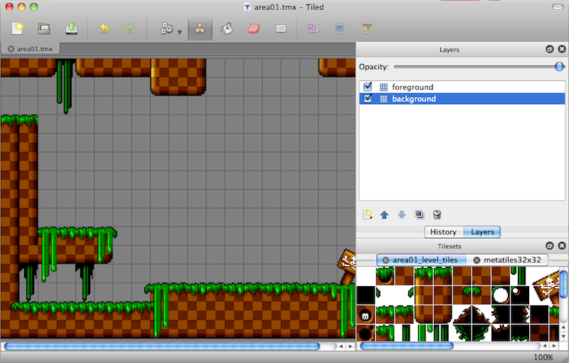 Example level made with Tiled level editor | Bouncy Game Inspiration ...