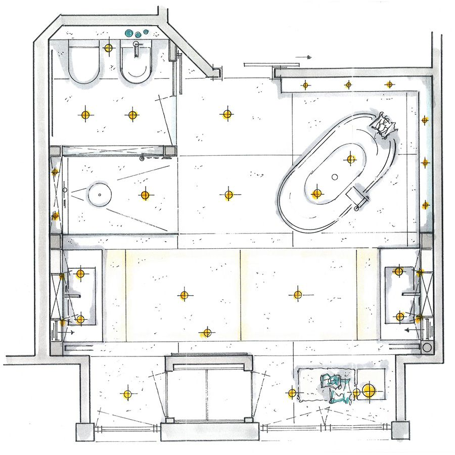 Innenarchitektur Architekten Einrichtung Wohnen Badezimmer Bad Badplaner Wiedemann Sanitar Home Relax Hausbau Planung Badezimmerideen Planer Bad