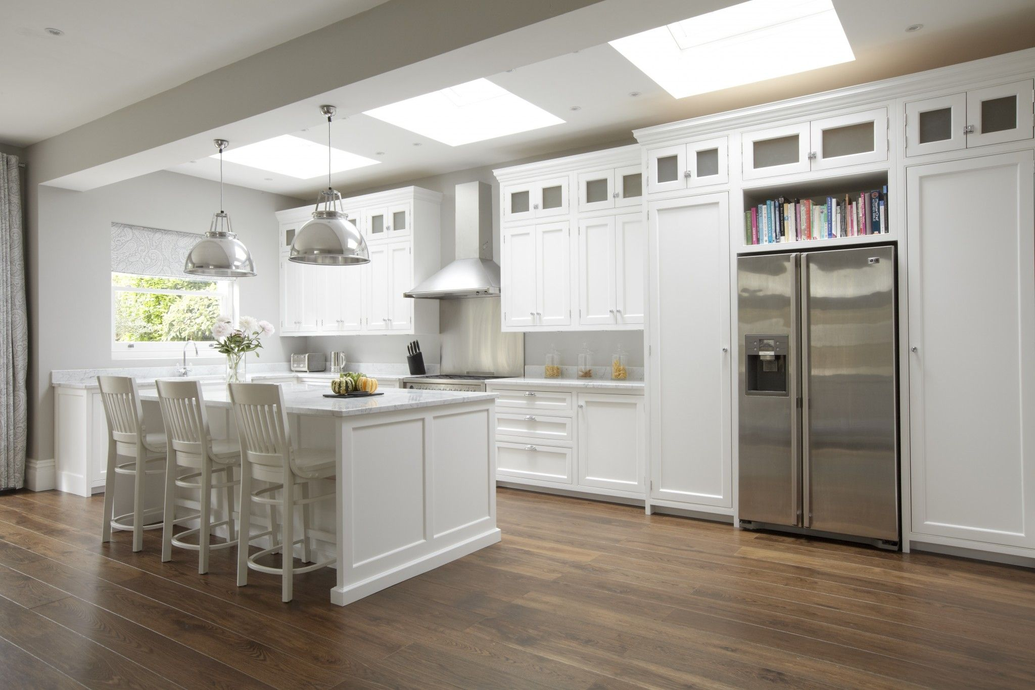 Hampton american style kitchen cocinas abiertas for Kitchen designs american style