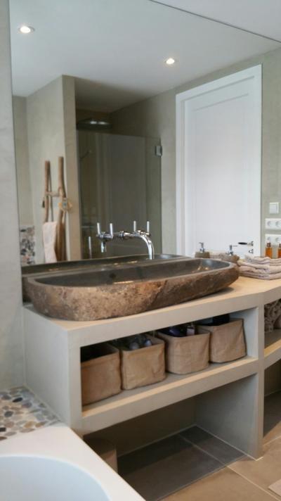 Badkamer beton ciré | Badkamer ♡ | Pinterest