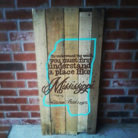 SMALL Mississippi Pallet Sign