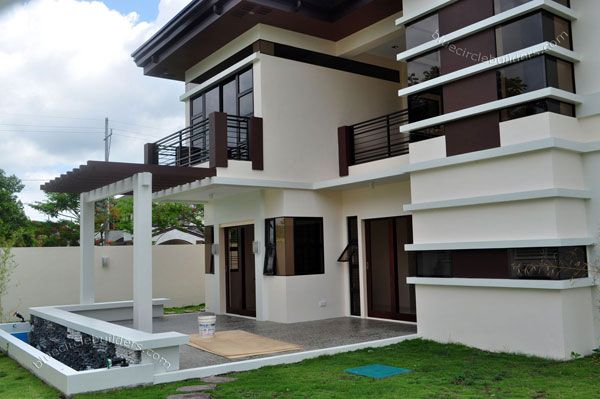 Asian tropical design home in the philippines filipino for Philippine house exterior design