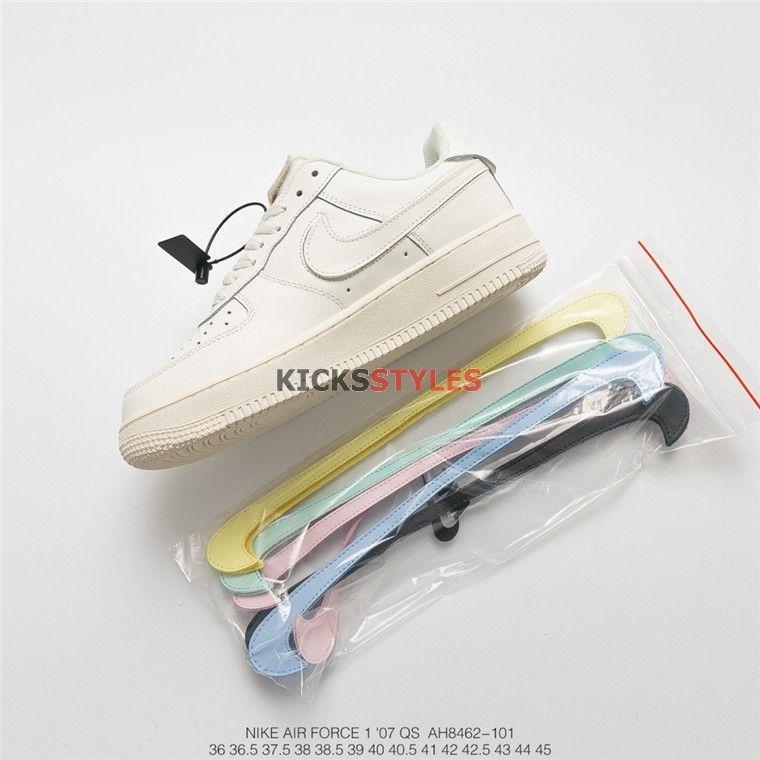 Nike Air Force 1 07 Qs Swoosh Pack All Star 2018 Sail Ah8462 101 Nike Air Force White Air Force Shoes Nike Air Force