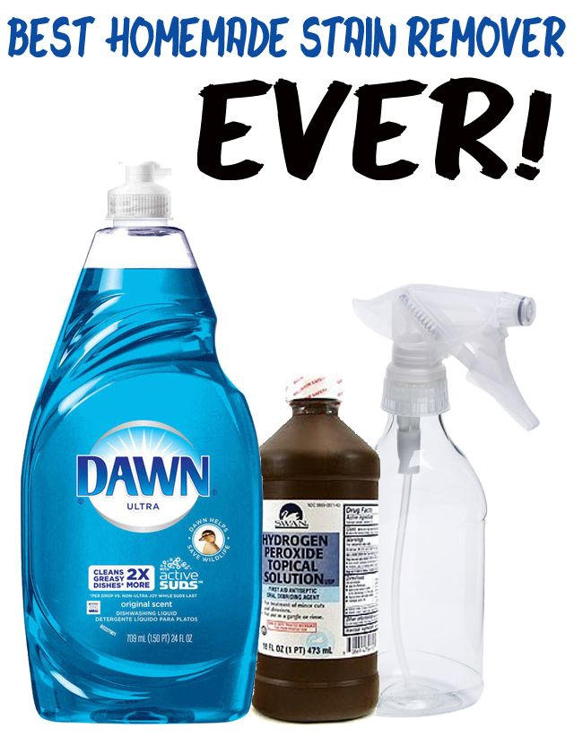Best Homemade Stain Remover Ever It Even Removes Old And