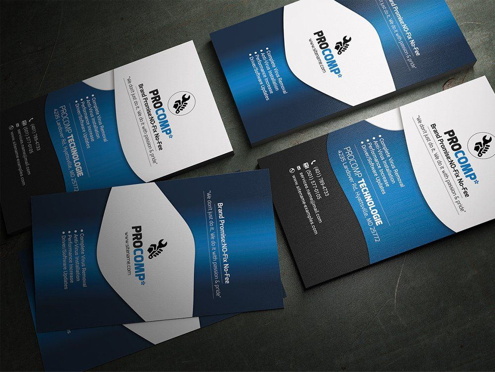 Free service business card template psd business cards pinterest free service business card template psd reheart Image collections