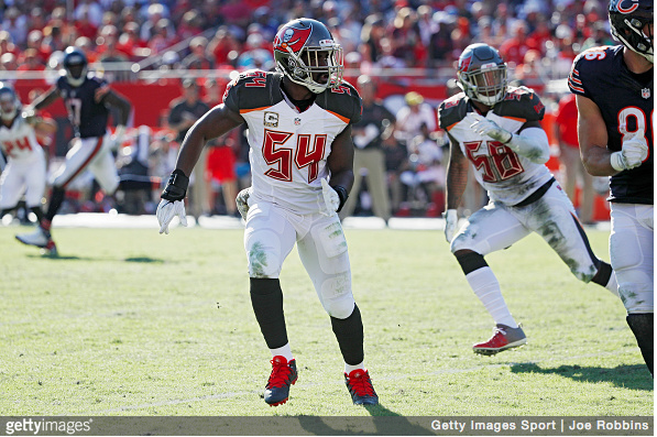 In 5 pro seasons Lavonte David has recorded 664 career tackles: https://www.amazon.com/gp/new-releases/?&tag=endzoneblog-20&camp=222349&creative=494197&linkCode=ur1&adid=1VAM6A279WH7CD8GCHM0&