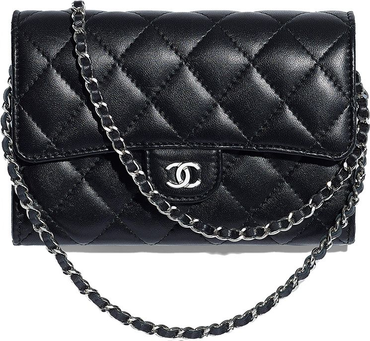 abbc681bdb5 Chanel Classic Clutch With Chain