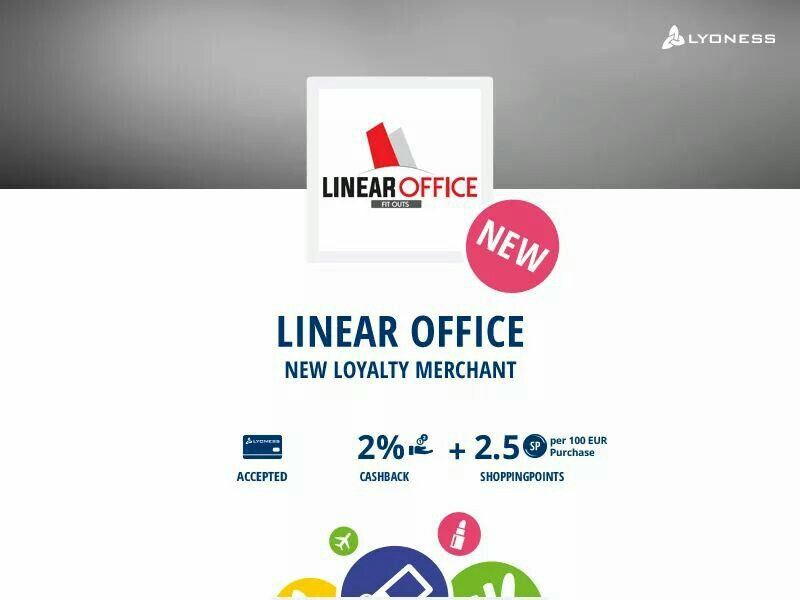 Another new merchant Linear Office Ireland