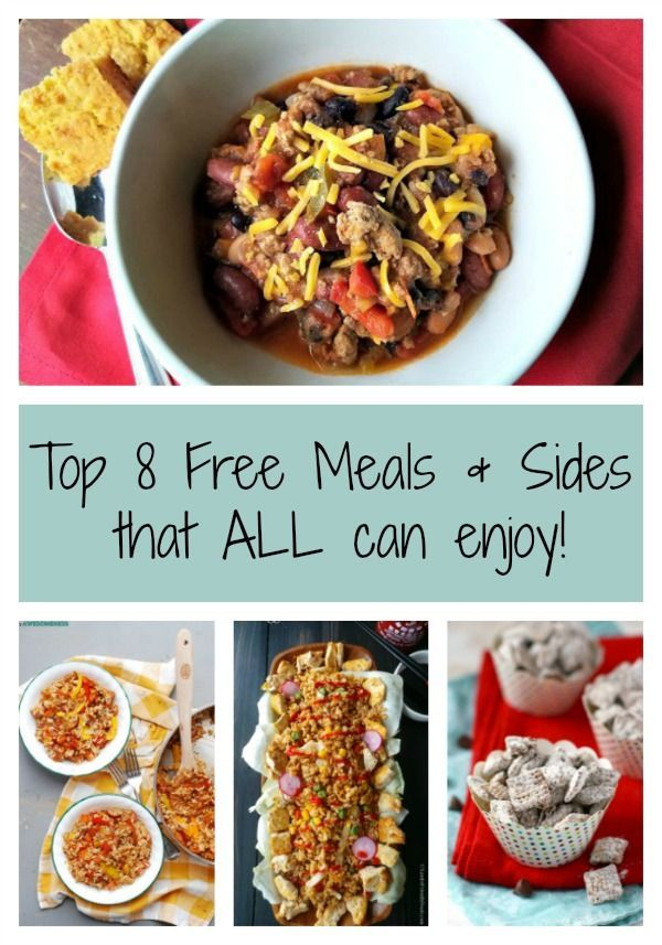 Whether feeding a crowd large or small, it's important to keep in mind the food allergy needs of guests. Here's a great collection for Top 8 Allergen Free meals that all can enjoy!