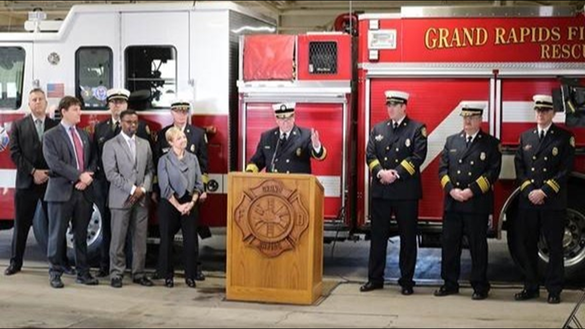 Grand Rapids Fire Dept First In State To Receive 1 Rating For Fire Protection Services With Images Fire Protection Services Fire Protection Grand Rapids