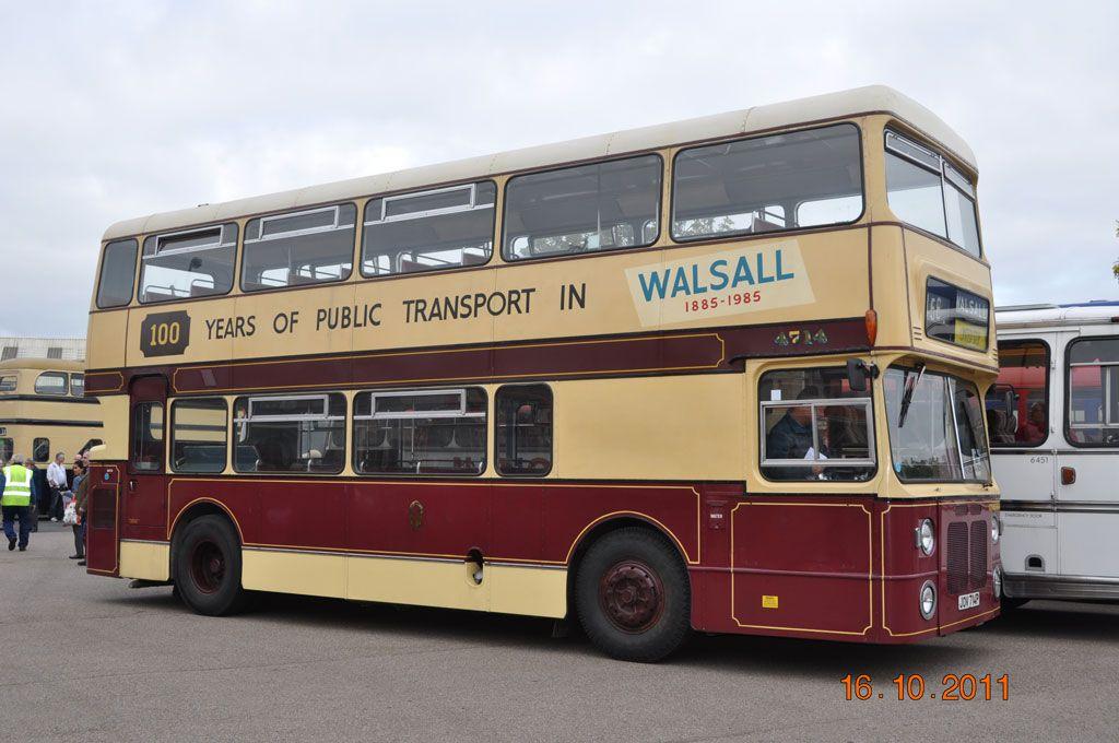 BRISTOL VR - Walsall original livery