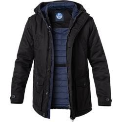 Photo of North Sails Parka-Jacke Herren, Mikrofaser, schwarz North Sails