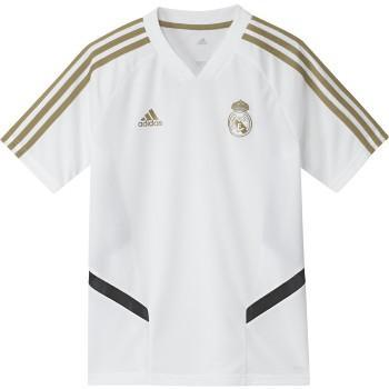 Adidas Kid S Real Madrid Training Jersey 2019 20 Dx7851 Training Shirts Adidas Kids Soccer Shirts