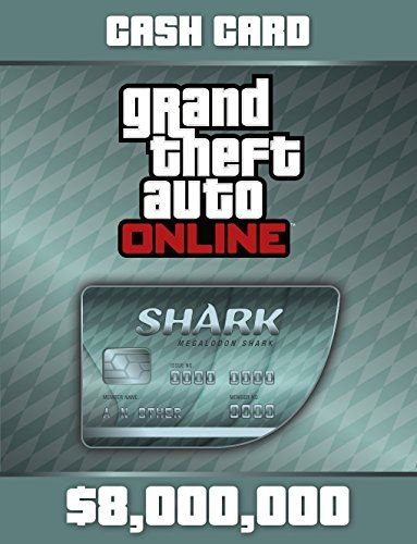 Purchase The Megalodon Shark Cash Card To Gain 8000000 In Game Gta Dollars To Spend In Gta Online The Biggest Pred Grand Theft Auto Cash Card Ps4 Digital Code