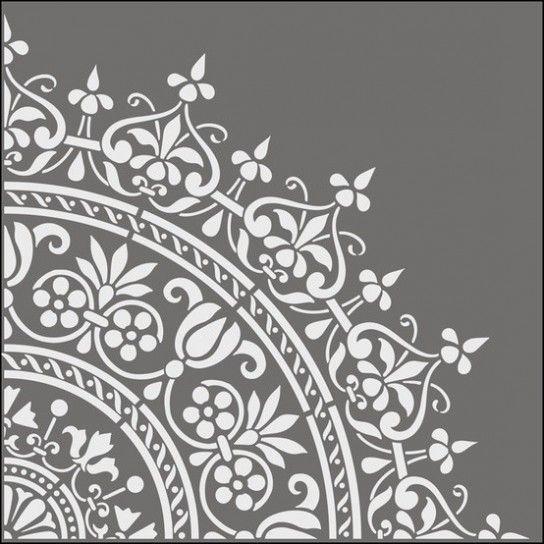 Tutti gli stencil per le pareti consigliati da design mag - Stencil per parete ...
