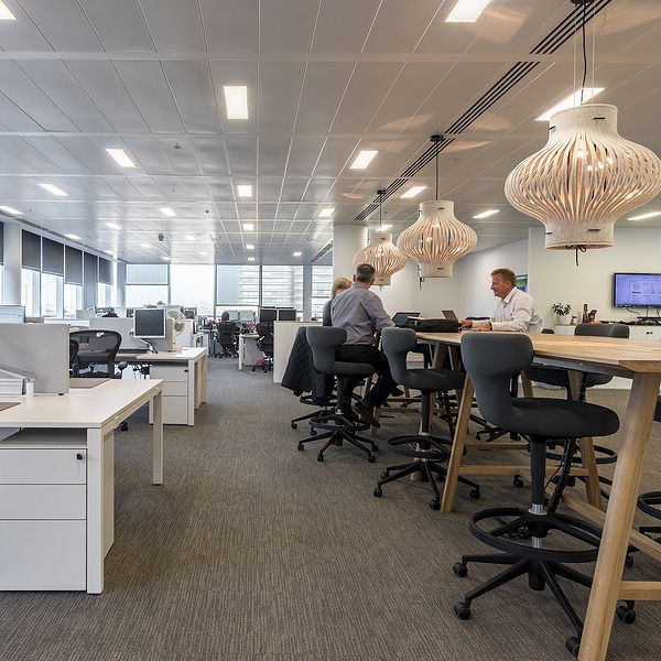 Align Creates New London Offices For Cathay Pacific Office Interiors Interior Design Cathay Pacific