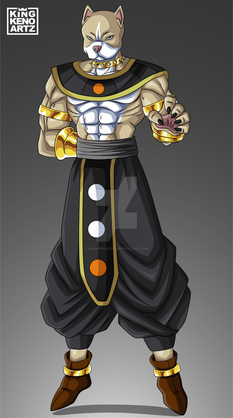 Commission 124: G.O.D Oro by KingKenoArtz on DeviantArt