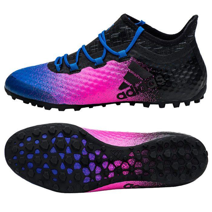 reputable site d7a92 85284 adidas 2017 X Tango 16.1 TF TURF Football Shoes Soccer Cleats Black BA9468   adidas