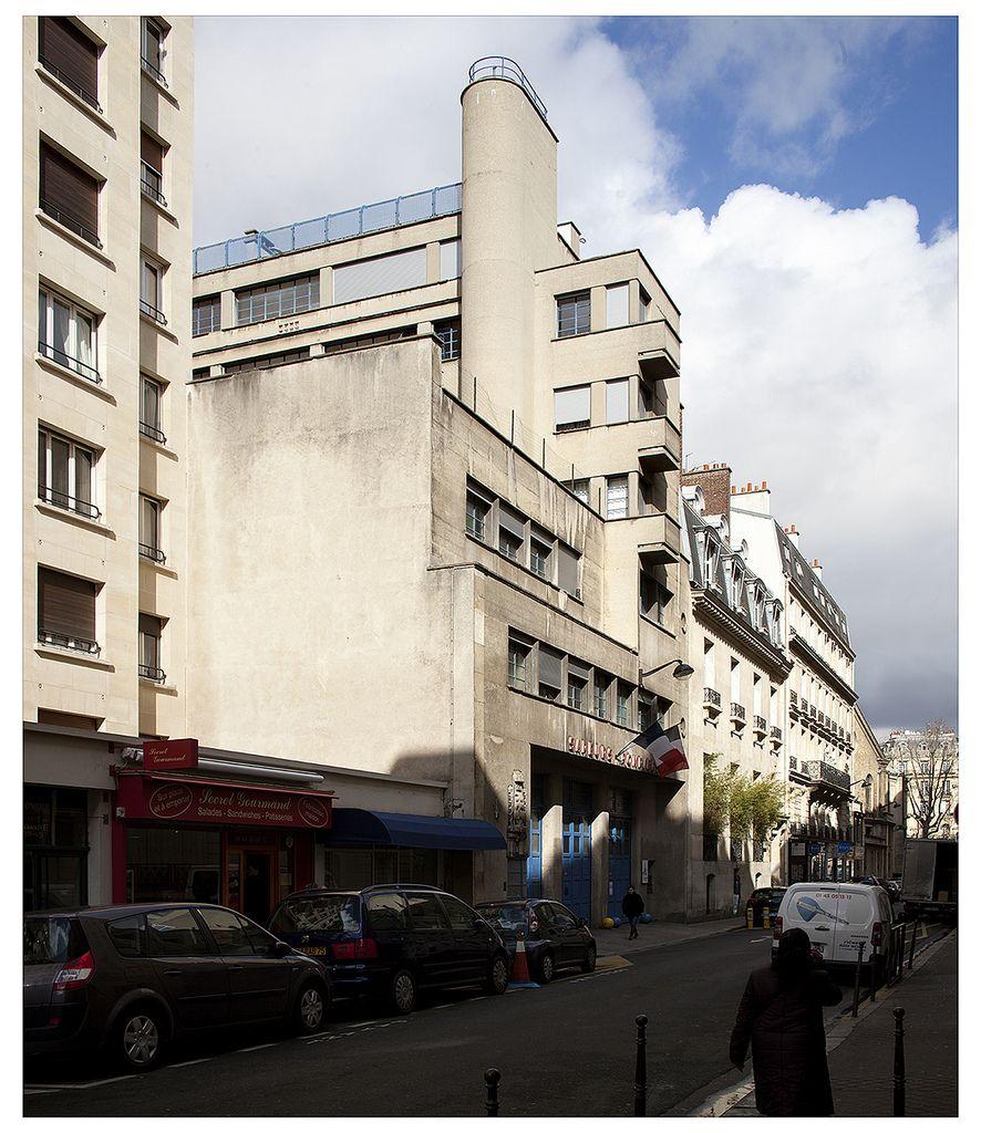 Fabuleux Caserne pompiers Dauphine, Robert Mallet-Stevens, 1936. 8, rue  NR48