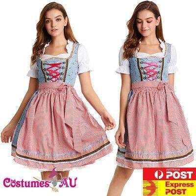 (Gesponsert) eBay Damen Oktoberfest Kostüm Beer Maid