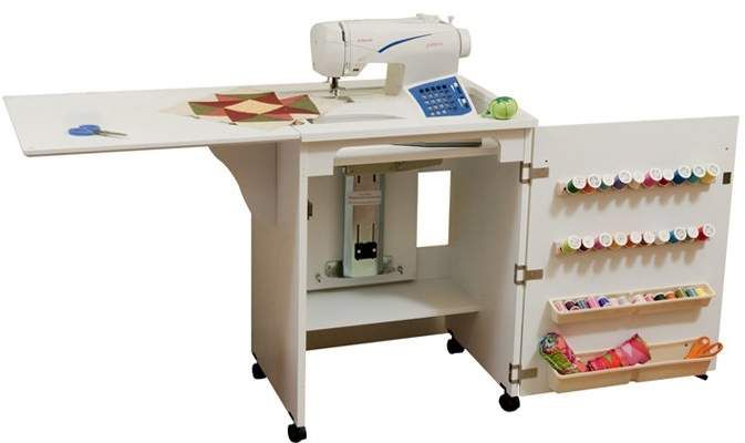 Arrow Sewing Cabinets Sewnatra Cabinet Folds Up To Be Super Compact For Small Es