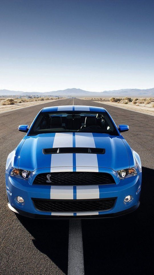 Huawei Ascend G6 Wallpaper Mustang Gt 500 Mobil Android Duvar