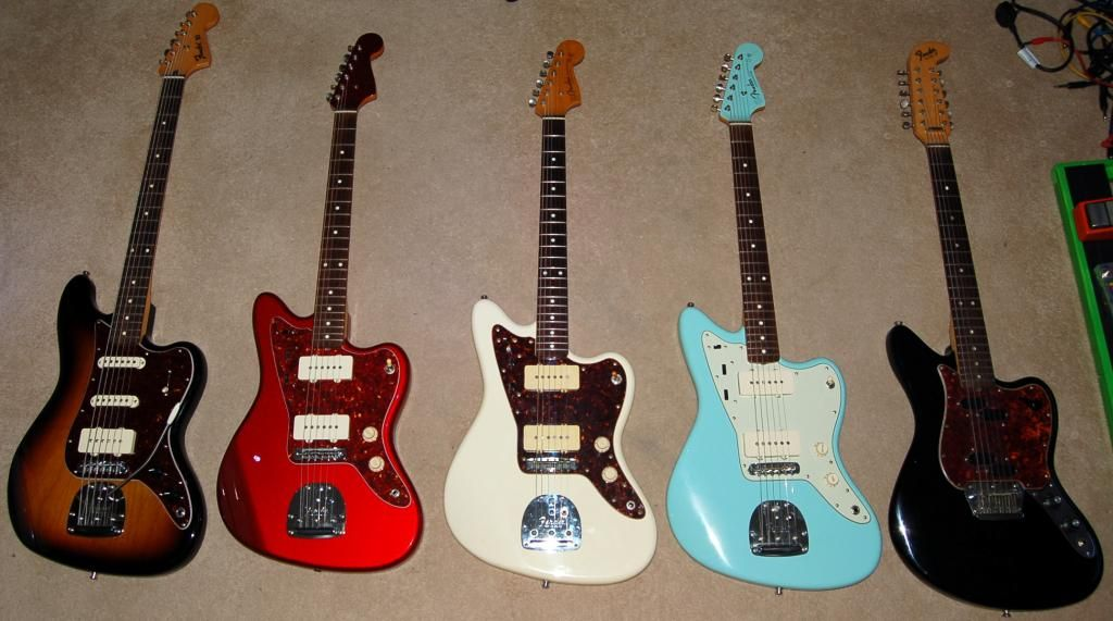 Offsets! I bought a Jaguar after the pic was taken.