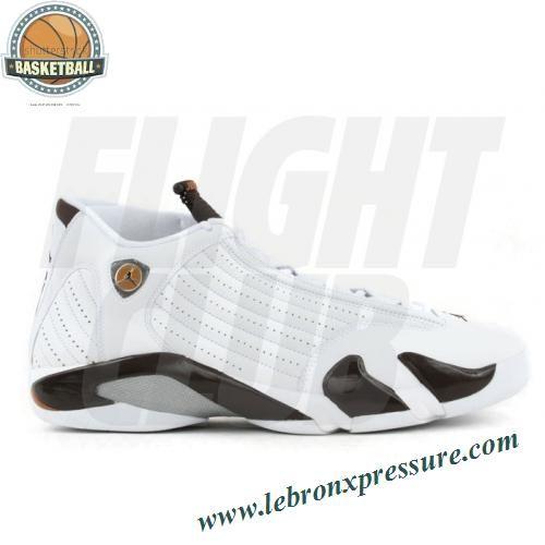 Air Jordan 14 retro white dark cinder chutney
