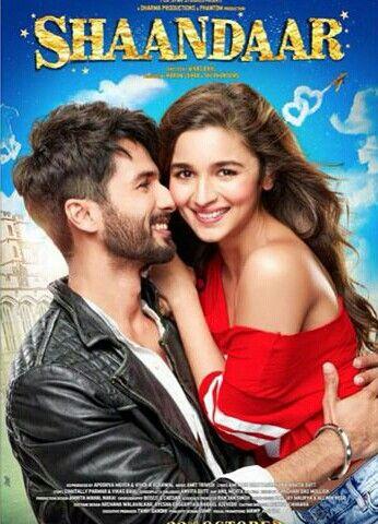 SHAANDAAR poster | Full movies online free. Bollywood movie. Movies online