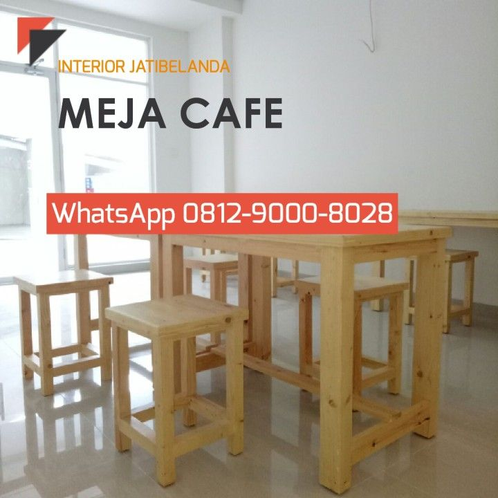 Meja Cafe Jati Belanda Jatibelanda Furnitureindonesia