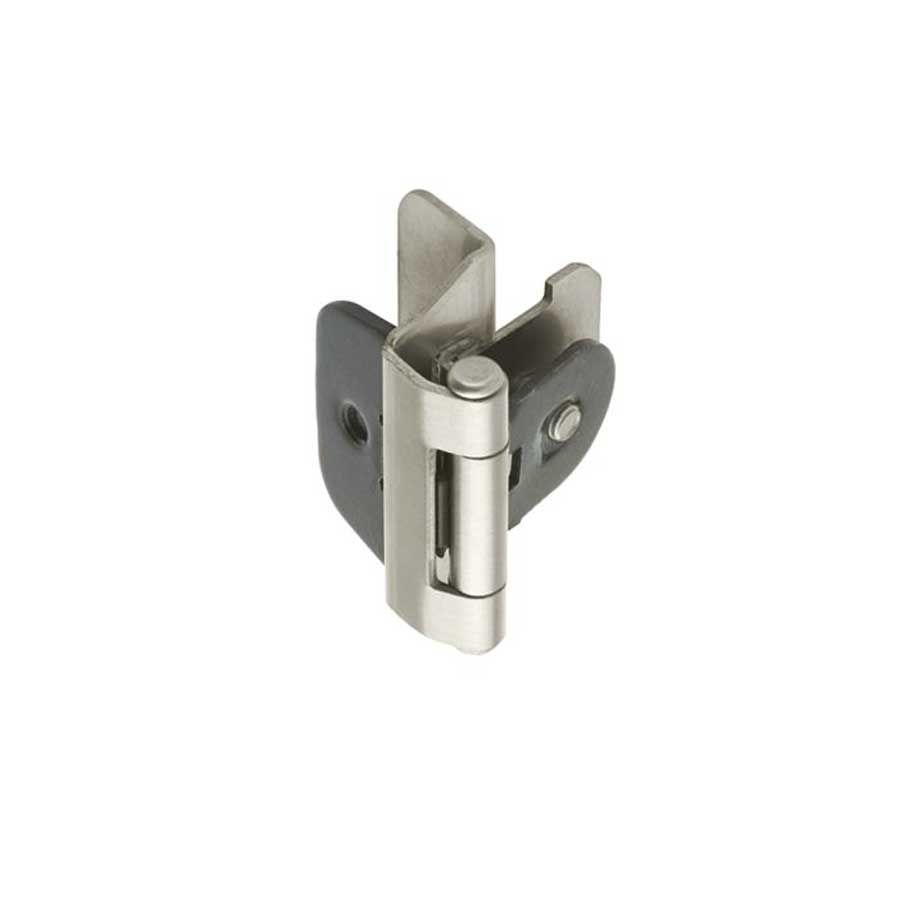 Amerock Double Demountable 1 4 Inch Overlay Hinge Satin Nickel Pair Bpr8701g10 Inset Hinges Amerock Amerock Hinges