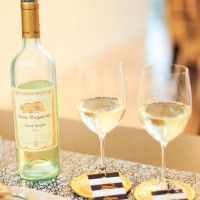 host a wine and cheese mini pic