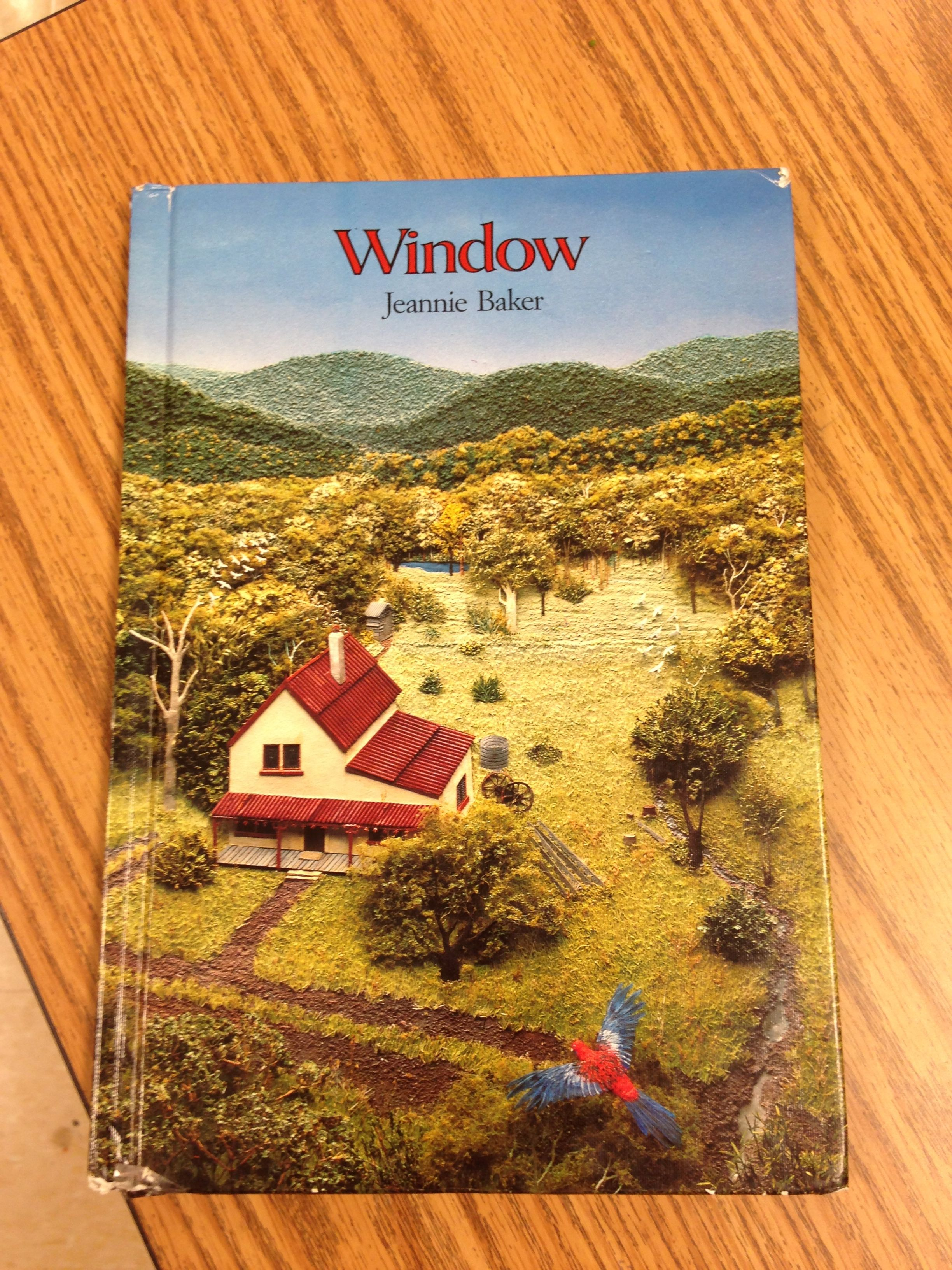 """I love this book by Jeannie Baker """"Window"""". It is an all picture"""