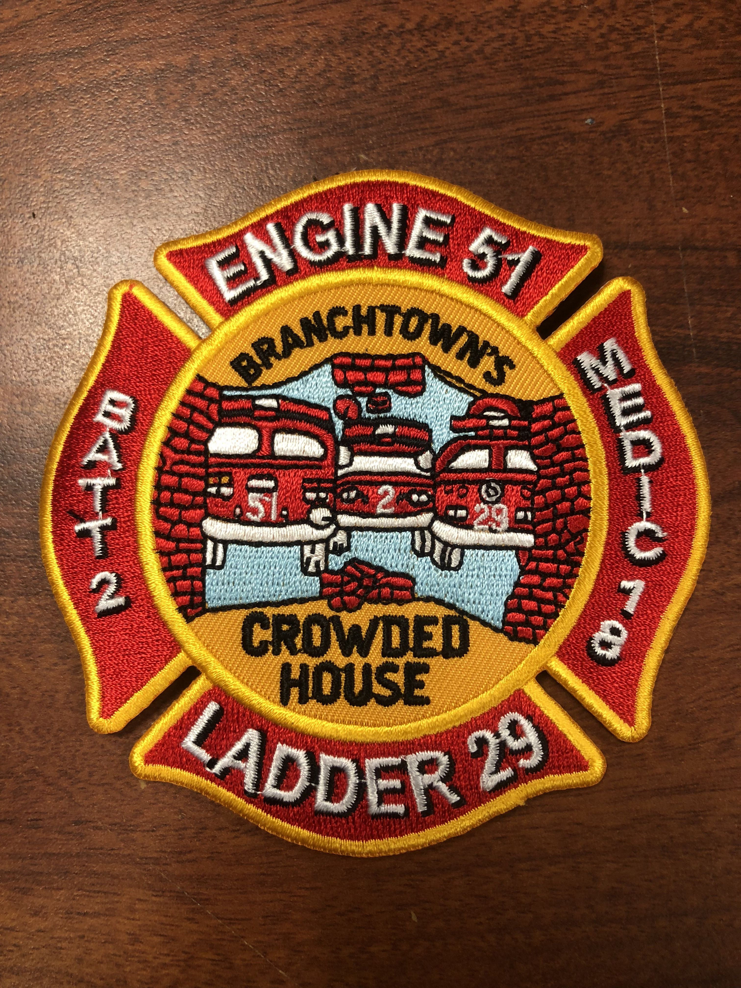 Pin On My Phila Fire Dept Patches