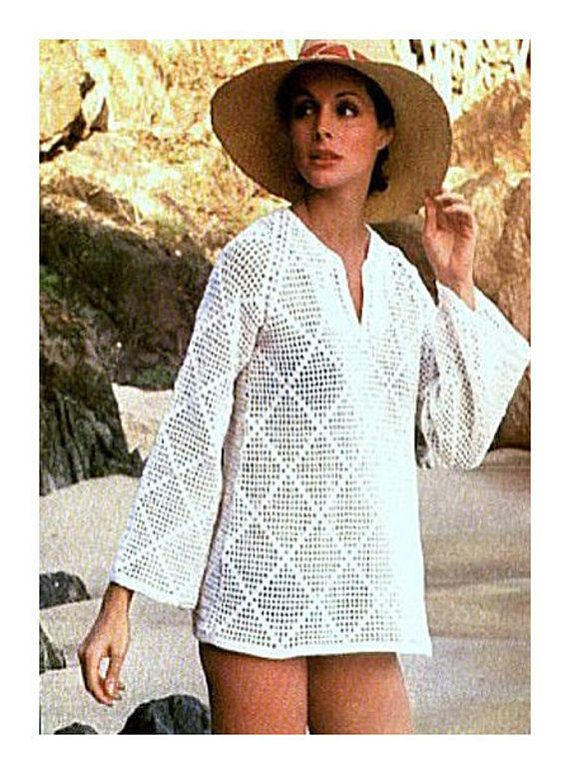 Instant PDF Download Vintage Crochet Pattern to make Ladies | salida ...