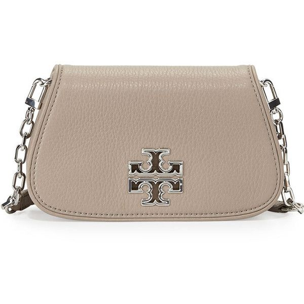 cbe14d73caf1 Tory Burch Britten Mini Crossbody Bag ( 275) ❤ liked on Polyvore featuring  bags