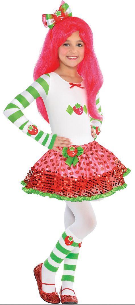 Girls Strawberry Shortcake Costume - Party City | Costumes ...
