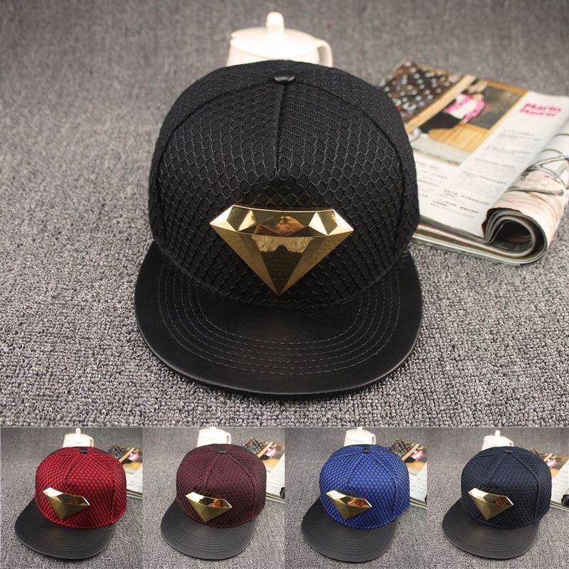 6e4cf6bc709 Click to Buy    New Brand Summer Superman Diamond Baseball Cap Hat For Men  Women Adjustable Casual Hip Hop Caps Snapback Hats Bone  Affiliate