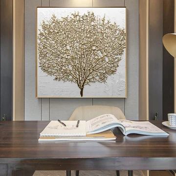 Golden Tree Print 6 Sizes In 2020 Gold Home Decor Tree Print Bare Tree